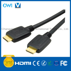 HDMI 19pin Plug-Mini HDMI Plug Cable pictures & photos
