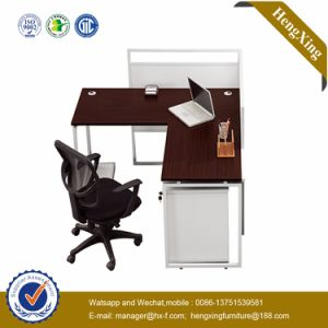 MDF Office Furniture L Shape Manager Office Desk (HX-AI132) pictures & photos