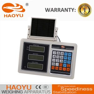 Weighing Price Indicator with ABS Plastic Solar Panel pictures & photos