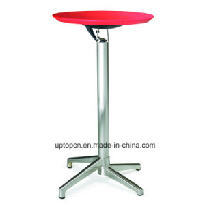 Modern Round Foldable High Bar Table (SP-FT388) pictures & photos