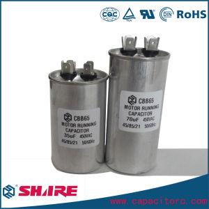 45UF AC Dual Capacitor for Motor Run Cbb65 Capacitor Oil Capacitor pictures & photos