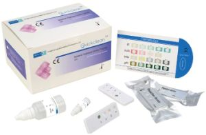 Rapid Test Kit for Bacterial Vaginosis Sialidase Sna, pH Value, Le, H2O2 Test pictures & photos