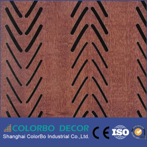 Acoustic Wood Wall Panel/Soundproof Wall Wooden Acoustic Panel pictures & photos