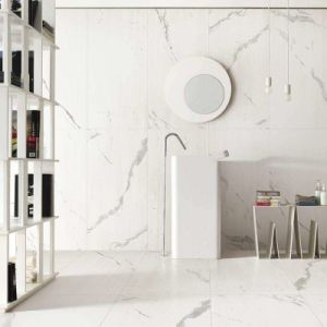 Carrara Marble Porcelain Full Polished Glazed Flooring Tile with Cheap Price pictures & photos