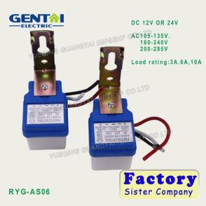 IP44 Waterproof 6A 10A Photocell Sensor Switch (RYG-AS06) pictures & photos
