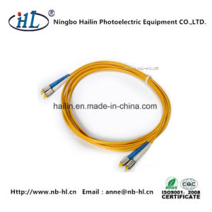 D4/Sm/PC Duplex Fiber Optic Patch Cord for Fiber CATV pictures & photos