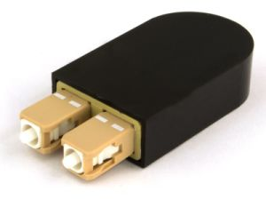 Singlemode Sc Optical Loopback with Precision Ceramic Ferrule pictures & photos