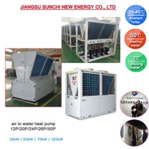 55kw 65kw Modular Air-Cooled Chiller Air Conditioning pictures & photos