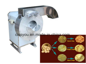 Selling Multi Root Vegetable Fruit Slicer Strip Cutter Chopper Machine pictures & photos