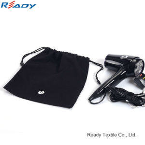 High Quality Cotton Drawstring Storage Bag for Hair Drier pictures & photos