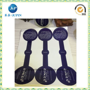 Customized Custom Waterproof Self Adhesive Transparent Sticker Label (JP-s064) pictures & photos