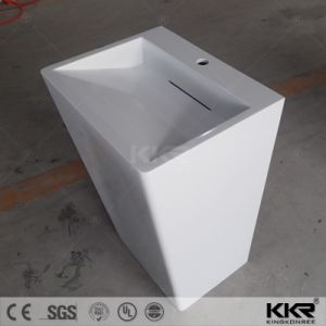 Wholesale Artificial Stone Square Freestanding Basin pictures & photos