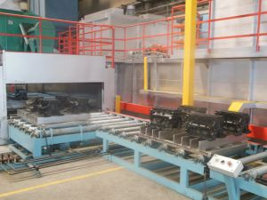 Coating Line for Sand Core pictures & photos