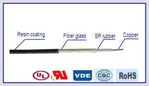H05sj-K VDE Approved Fiber Glass Braid Silicone Rubber Electric Wire pictures & photos