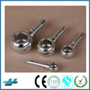 Metric Thread Bite Type Tube Fittings Replace Parker Fittings and Eaton Fittings (METRIC BANJO DIN 7642) pictures & photos