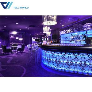 Nightclub Pub Salad Bar Illuminated LED Mobile Bar Counter pictures & photos