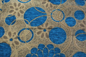 100%Polyester South American Style Chenille Upholstery Fabric Types pictures & photos