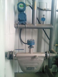 Coriolis Mass Flowmeter (LZYN) for Liquid & High Pressure Gas pictures & photos