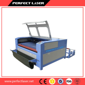 Leather, Textile, Fabric CO2 Laser Cutting Machine Price with Auto Feeder pictures & photos