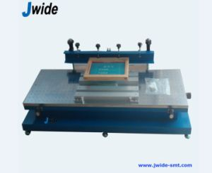Red Glue Manual PCB Screen Printer PCB Machine pictures & photos