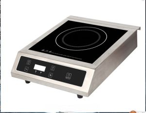 3500W stainless steel restaurant use commercial induction stove pictures & photos
