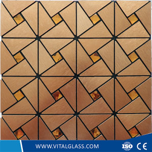 Silver Decoration Glass Mosaic for Wall and Floor pictures & photos