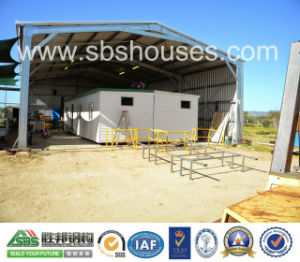 Commercial Building for Prefabriated Steel Structure Garage with Green Materials pictures & photos