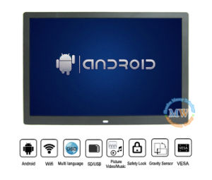 """Android 3G 4G WiFi Wireless LCD 15 Inch Digital Photo Frame Display """"4: 3"""" HDMI (MW-1507WDPF) pictures & photos"""