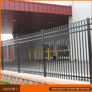 Powder Coated Ornamental Wrought Iron Fence pictures & photos