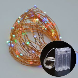 AA Battery Operated Copper Wire LED String Light / LED Xmas Light / LED Christmas Light pictures & photos