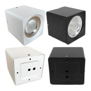 3-Year Warranty Square Surface Mounted 40W Epistar COB LED Downlight pictures & photos