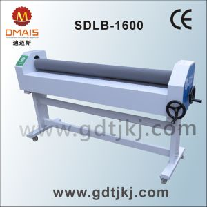 DMS Manual Cold Roll to Roll Laminating Machine pictures & photos
