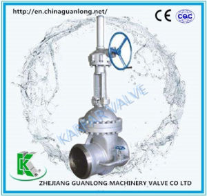 Flat Plate Slab Gate Valve (Z73) Weld End pictures & photos