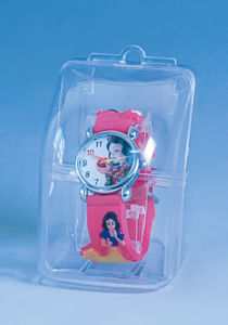 Transparent Small Details Beautiful Plastic Watch Box pictures & photos