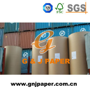 White Newsprint Paper with Brown Kraft Paper Packing pictures & photos