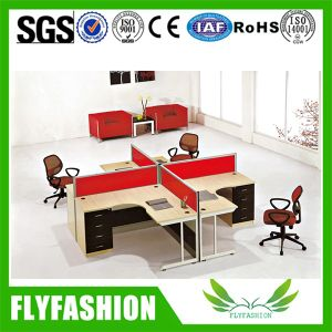 Office Four Seats Staff Desk 4 Seats Workstation (OD-73) pictures & photos