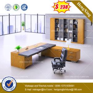 Metal Modesty Panel Glass Computer Table /Desk (HX-8NE017C) pictures & photos