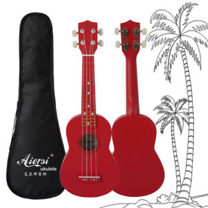 Aiersi Colour Cheap Price Practice Soprano Lindewood Ukulele pictures & photos
