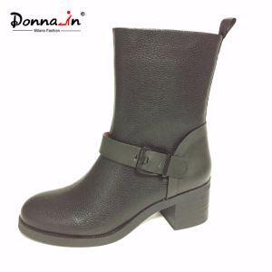 Casual Strap Women High Heels Patchwork Lady Footwear (CIF DDP) pictures & photos