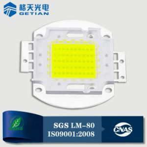 Low Light Decay Cool White 6000k 80W LED COB pictures & photos