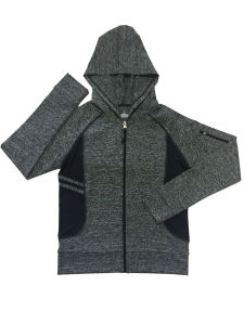 Quick Dry High Quality Yoga Suits/ Yoga Pants/ Womens Yoga Full Zip Hoodie/ Women Yoga Clothing pictures & photos