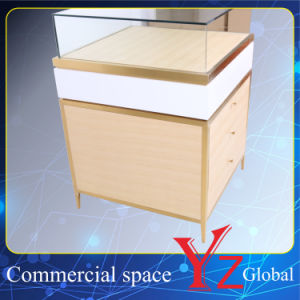 Display Case (YZ161709) Display Cabinet Stainless Steel Display Shelf Display Showcase Exhibition Cabinet Shop Counter pictures & photos