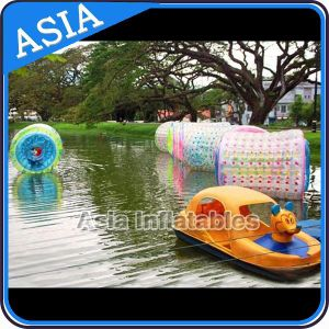 Giant Outdoor Inflatable Water Roller Inflatable Water Games, PVC Material Inflatable Hamster Wheel, Customized Size Inflatable Water Walking Roller pictures & photos