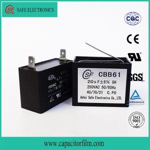 Fan Capacitor Cbb61 pictures & photos