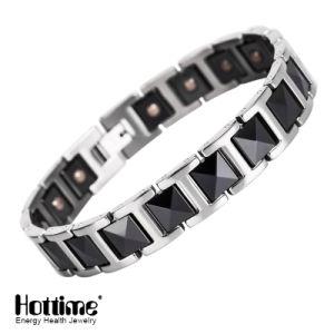 Fashion Black Ceramic Bracelets Silver & Black Bangle pictures & photos