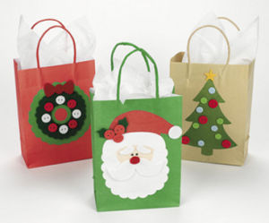 China Custom Luxury Paper Shopping Bag with Ribbon pictures & photos
