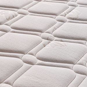 100%Premium Natural Latex Spring Mattress with High Quality Fabric Cover for Living Room Hotel Furniture -Fb701 pictures & photos