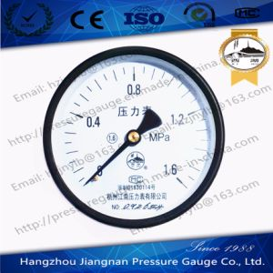 1.6MPa General Pressure Gauge with Axial Direction pictures & photos