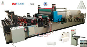 Full Automatic Rewinding Perforation Tissue Paper Machine pictures & photos