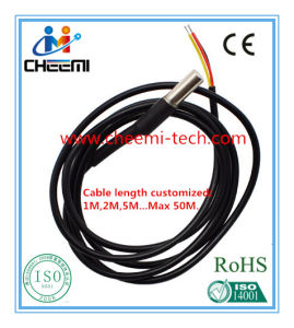 Waterproof Digital Temperature Probe/Sensor with Dallas Ds18b20 Chip pictures & photos